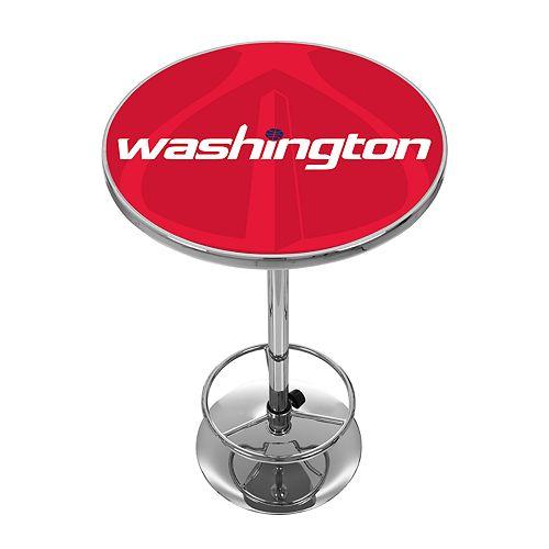 Washington Wizards Chrome Pub Table