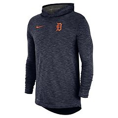Nike Men s Detroit Tigers Dri-FIT Slubbed Logo Hoodie 339fd5c30
