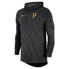 a1afd44e799f Nike Men s Pittsburgh Pirates Dri-FIT Slubbed Logo Hoodie