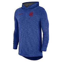 Nike Men's Chicago Cubs Dri-FIT Slubbed Logo Hoodie