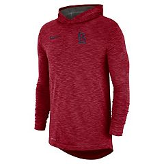 Nike Men's St. Louis Cardinals Dri-FIT Slubbed Logo Hoodie