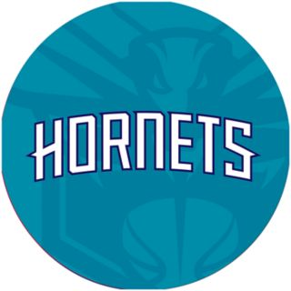 Charlotte Hornets Padded Ribbed Bar Stool