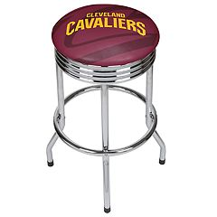 Cleveland Cavaliers Padded Ribbed Bar Stool