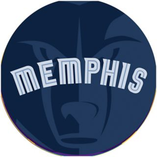 Memphis Grizzlies Padded Ribbed Bar Stool
