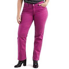 Plus Size Levi's Classic Fit Midrise Straight-Leg Jeans
