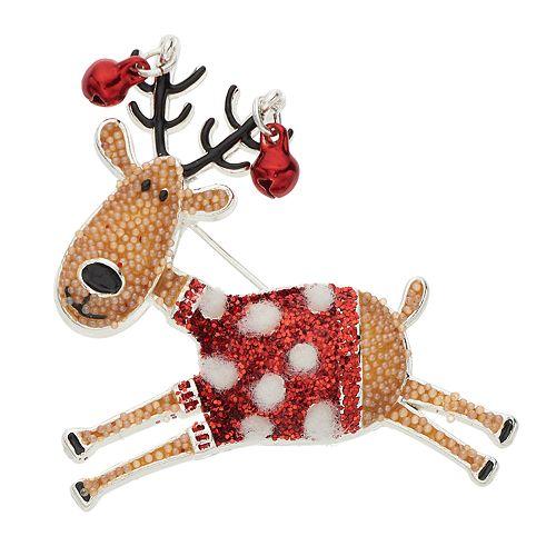 Holiday Reindeer Pin