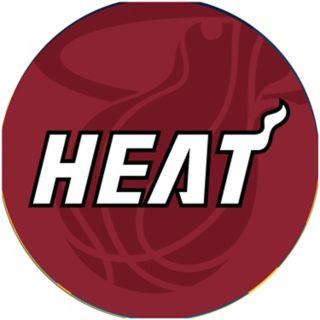 Miami Heat Padded Ribbed Bar Stool