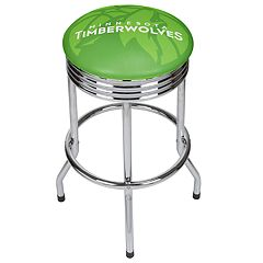 Minnesota Timberwolves Padded Ribbed Bar Stool