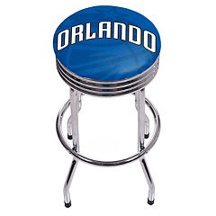 Orlando Magic Padded Ribbed Bar Stool