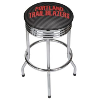 Portland Trail Blazers Padded Ribbed Bar Stool