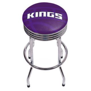 Sacramento Kings Padded Ribbed Bar Stool