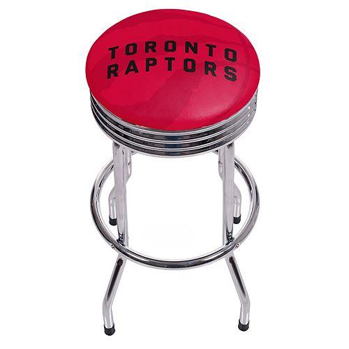 Toronto Raptors Padded Ribbed Bar Stool