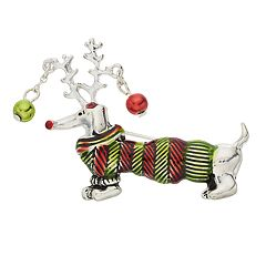 Holiday Dachshund Pin