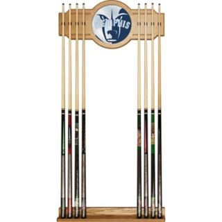 Memphis Grizzlies Logo Framed Mirror Pool Cue Holder