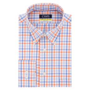 Men's Chaps Regular-Fit Stretch Collar Button-Down Shirt