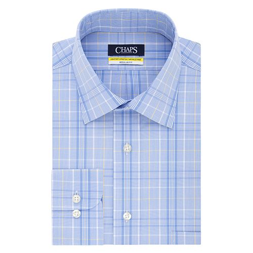 Big & Tall Chaps Stretch Collar Dress Shirt