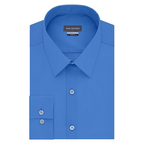 Men's Van Heusen Extreme Color Endurance Slim-Fit Dress Shirt