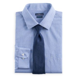 Men's Croft & Barrow® Classic-Fit Striped Dress Shirt and Patterned Tie