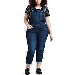 Plus Size Levi's Jean Overalls