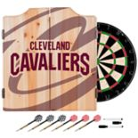 Cleveland Cavaliers Wood Dart Cabinet Set