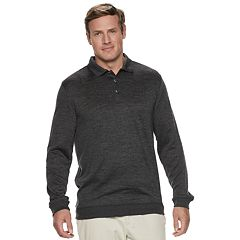 Big & Tall Van Heusen Performance Polo Sweater