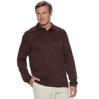 Big & Tall Van Heusen Performance Polo Sweater