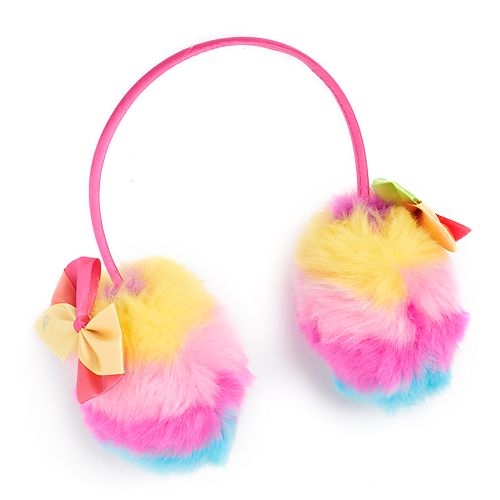 Girls 4-6x JoJo Siwa Rainbow & Bow Earmuff Headband