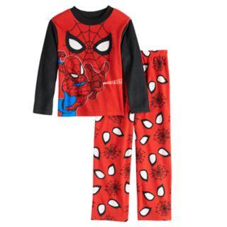 Boys 4-10 Spider-Man Fleece 2-Piece Pajamas