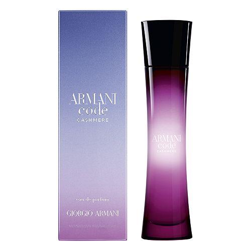 Giorgio Armani Code Cashmere Womens Perfume Eau De Parfum