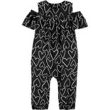 Baby Girl Carter's Heart Jumpsuit