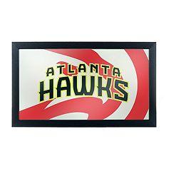 Atlanta Hawks Logo Framed Mirror