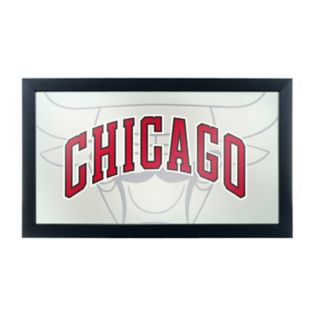 Chicago Bulls Logo Framed Mirror