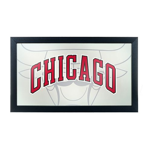 Chicago Bulls Logo Framed Mirror
