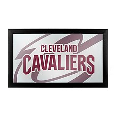 Cleveland Cavaliers Logo Framed Mirror