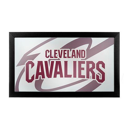 Cleveland Cavaliers Logo Framed Mirror