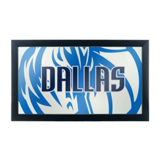 Dallas Mavericks Logo Framed Mirror