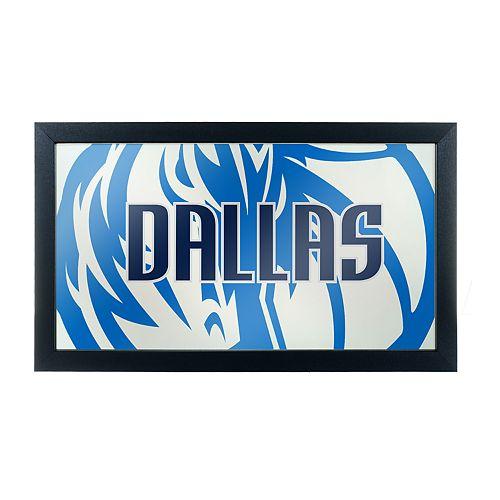 Dallas Mavericks Logo Framed Mirror