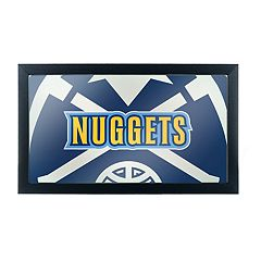 Denver Nuggets Logo Framed Mirror