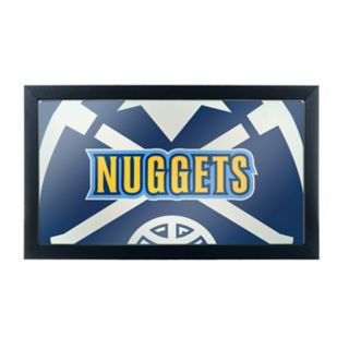 Denver Nuggets Logo Framed Mirror