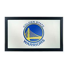 Golden State Warriors Logo Framed Mirror