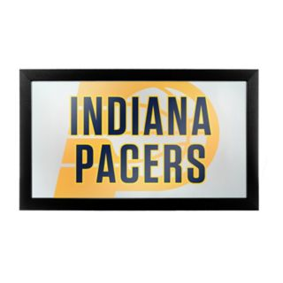 Indiana Pacers Logo Framed Mirror