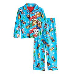 Boys 4-8 Paw Patrol Christmas 2-Piece Pajama Set