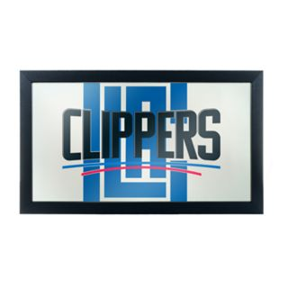 Los Angeles Clippers Logo Framed Mirror