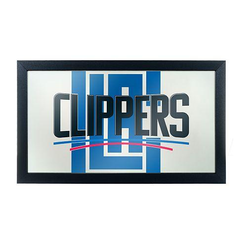 Los Angeles Clippers Logo Framed Mirror