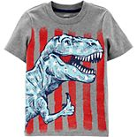 Toddler Boy Carter's 4th Of July Dino Jersey Tee