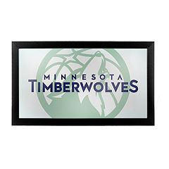 Minnesota Timberwolves Logo Framed Mirror