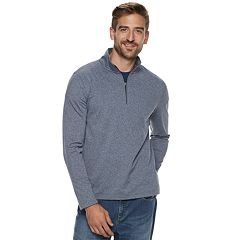 Men's Apt. 9® Premier Flex Modern-Fit Soft Touch Quarter-Zip Pullover