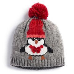 Penguin Knit Beanie