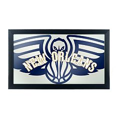 New Orleans Pelicans Logo Framed Mirror