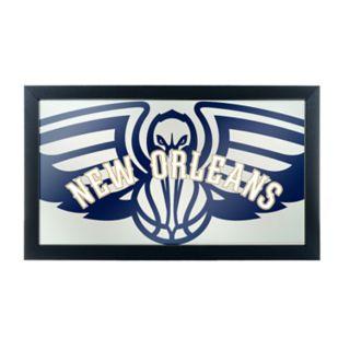 New Orleans Pelicans Logo Framed Mirror